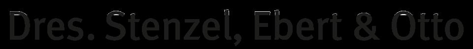Logoschriftzug: Dres. Stenzel, Ebert & Otto